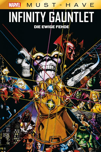 Marvel Must Have: Infinity Gauntlet Cover