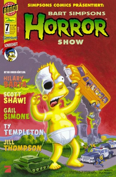 Bart Simpsons Horror Show 7