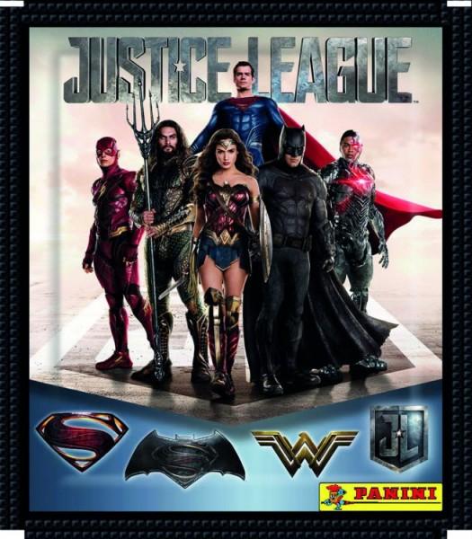 Justice League Stickerkollektion - Tüte
