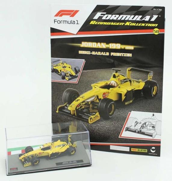 Formula 1 Rennwagen-Kollektion 58: Heinz-Harald Frentzen (Jordan 199)