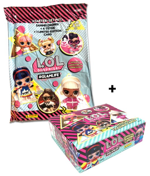L.O.L. Surprise! #Glamlife Trading Cards Kollektion - Glamlife-Bundle