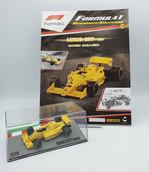 Formula 1 Rennwagen-Kollektion 70: Satoru Nakajima (Lotus 99T)