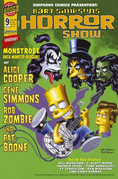 Bart Simpsons Horror Show 9