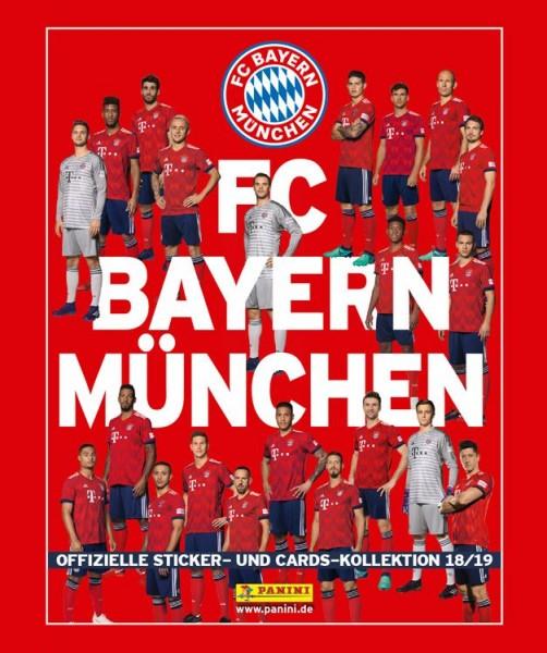 FC Bayern München: Offizielle Sticker- und Cards-Kollektion 2018/2019 - Tüte
