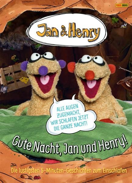 Jan & Henry - Gute Nacht, Jan & Henry! Die lustigen 5-Minuten Geschichten zum Einschlafen