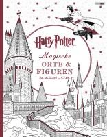 Harry Potter: Magische Orte und Figuren - Malbuch Cover