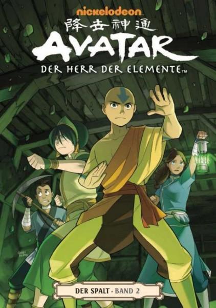 Avatar - Der Herr der Elemente 9: Der Spalt 2 - Cover