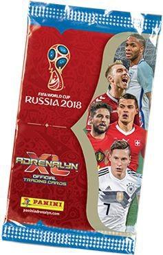 2018 FIFA World Cup Russia Adrenalyn XL - Tüte