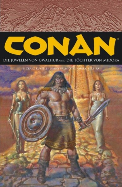 Conan 5: Die Juwelen von Gwahlur & Die Töchter von Midora