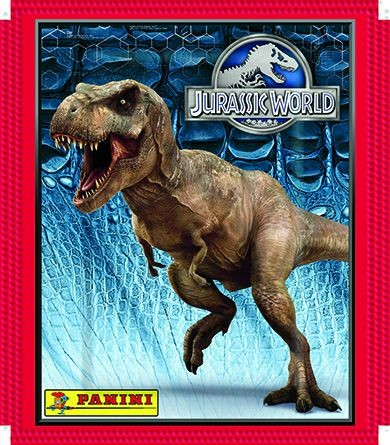 Jurassic World Stickerkollektion - 1 Tüte