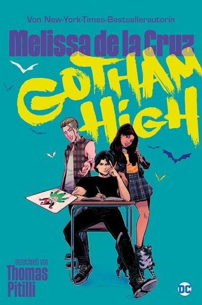 Gotham High: Alle für Keinen Cover
