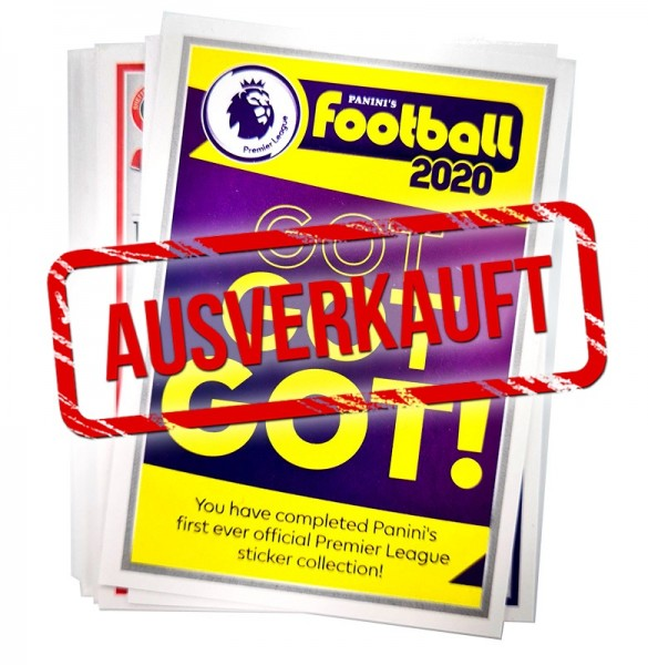 Premier League 2020 Stickerkollektion – Update-Set