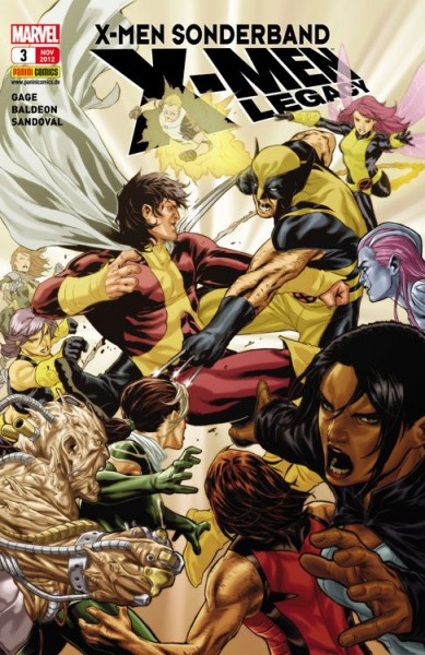 X-Men Sonderband: X-Men Legacy 3