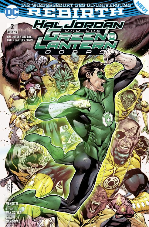 Hal Jordan und das Green Lantern...