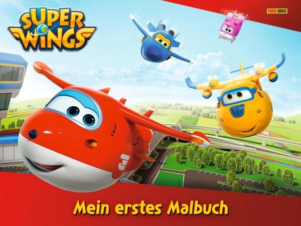 Super Wings - Mein erstes Malbuch