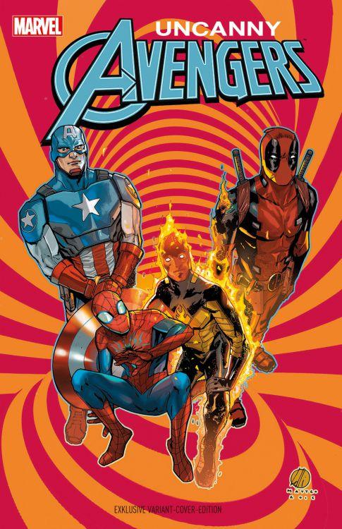 Uncanny Avengers 1 - Comic Con Stuttgart
