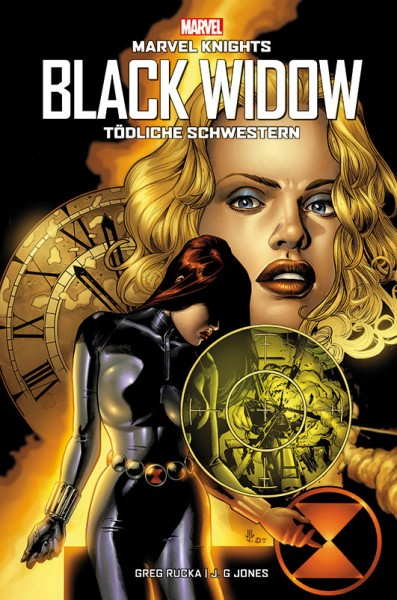 Marvel Knights: Black Widow Hardcover Cover