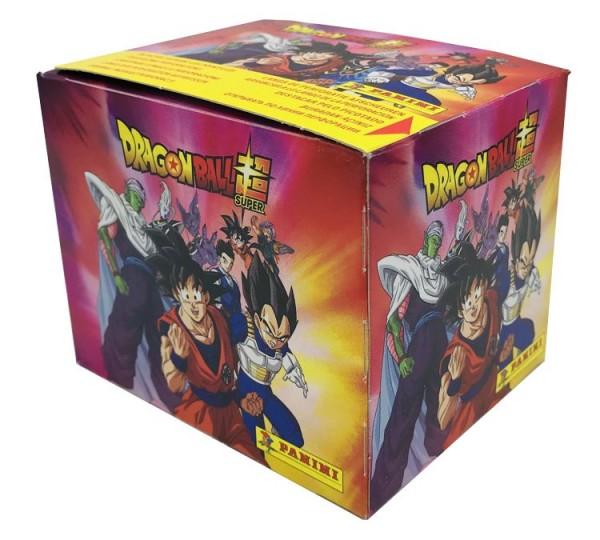 Dragon Ball Super Stickerkollektion  - Box mit 36 Tüten Vorne