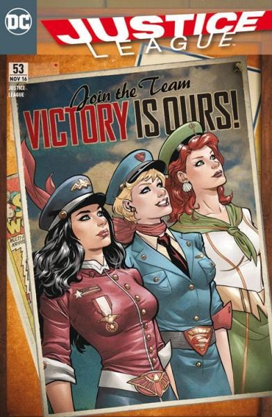 Justice League 53 Variant - Comic Action 2016