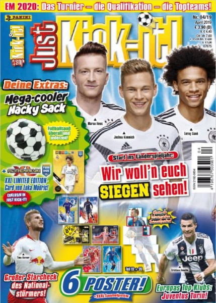 Just Kick-It! Magazin 04/19