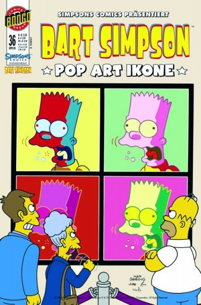 Bart Simpson Comics 36