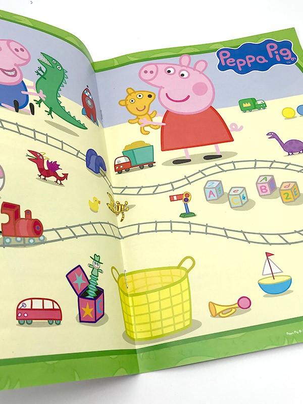 Peppa Pig Magazin Innenansicht Poster
