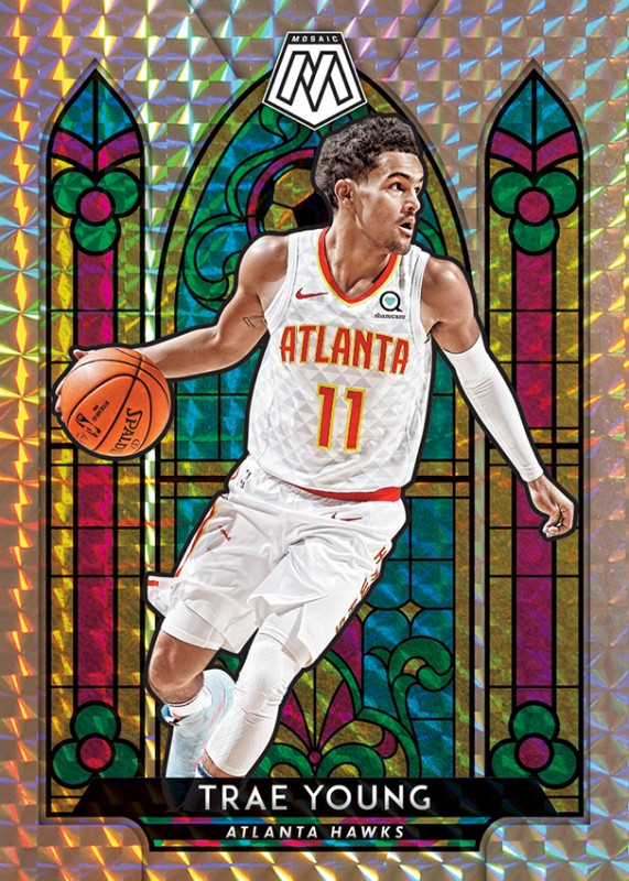 NBA Basketball Mosaic Trading Cards 2019/20 - Trae Young