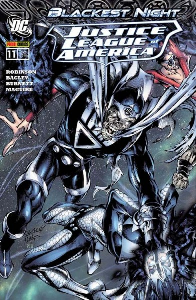 Justice League of America 11: Blackest Night