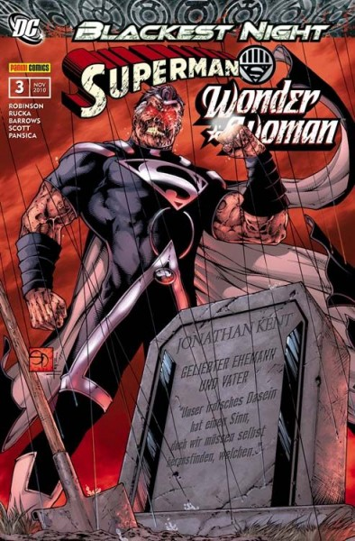 Blackest Night Sonderband 3: Superman/Wonder Woman