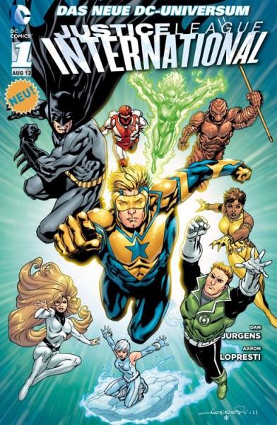 Justice League International 1: Die Wächter