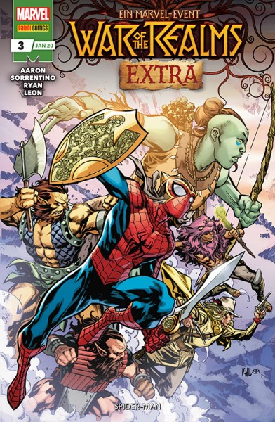 War of the Realms Extra 3 - Spider-Man