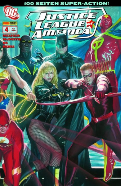 Justice League of America 4: Wachdienst