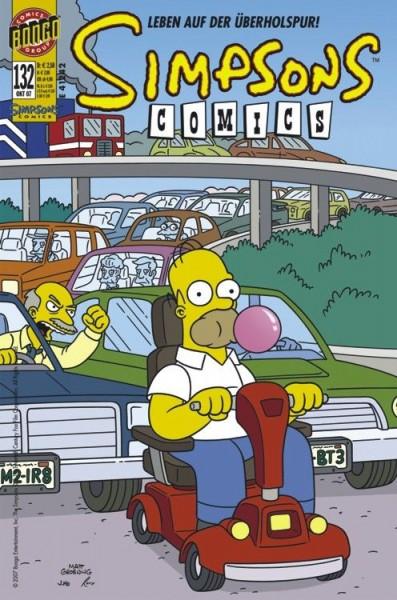 Simpsons Comics 132