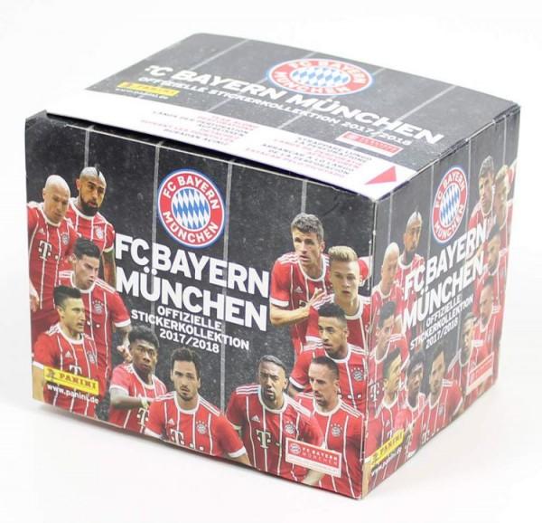 FC Bayern München 2017/2018 - Stickerkollektion - Box mit 36 Tüten