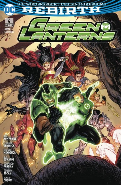 Green Lanterns 4: Polarität