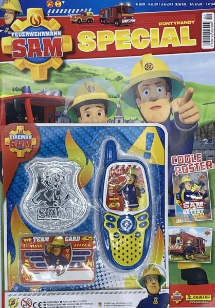 Feuerwehrmann Sam Special 02/20 Magazin Cover