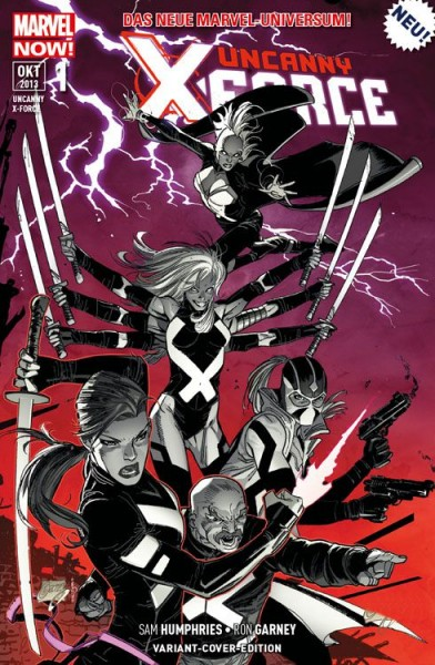 Uncanny X-Force 1 Variant