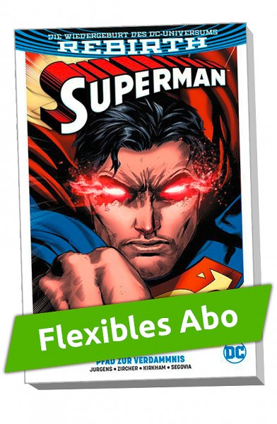 Flexibles Abo - Superman Paperback