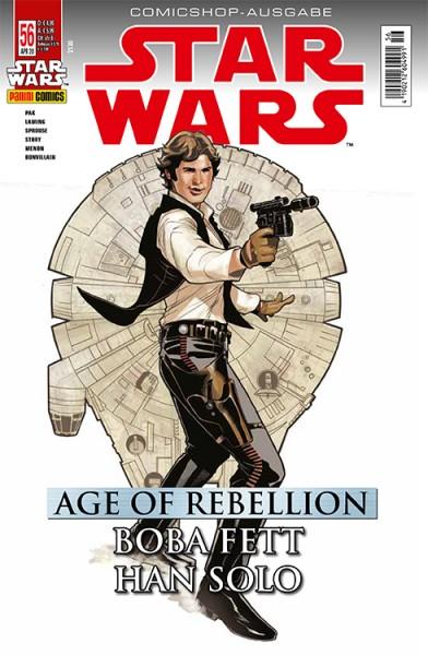 Star Wars 56: Age of Rebellion - Han Solo & Boba Fett -  Comicshop Ausgabe