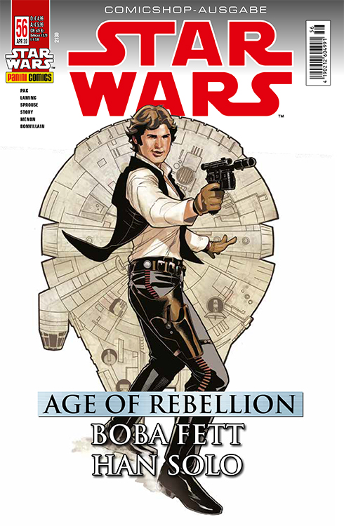 Star Wars 56: Age of Rebellion - Han...
