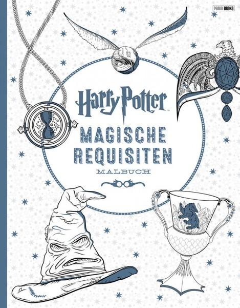 Harry Potter: Magische Requisiten - Malbuch