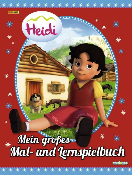 Heidi - Mein großes Mal- und Lernspielbuch