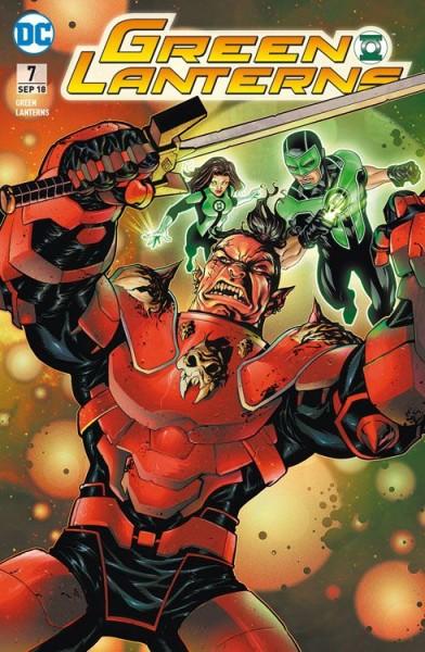 Green Lanterns 7: Aufruhr im Weltraum