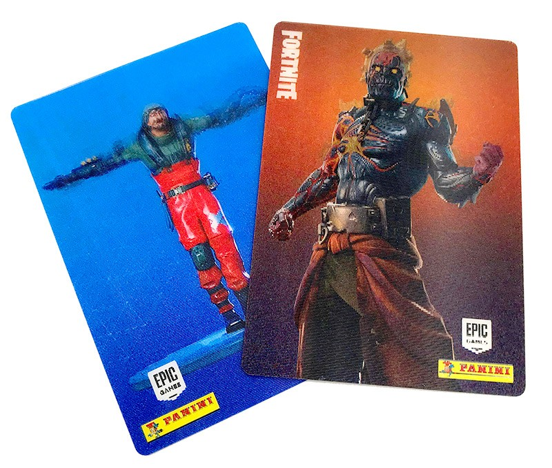 Fortnite Reloaded Trading Cards - Beispiel Special Cards