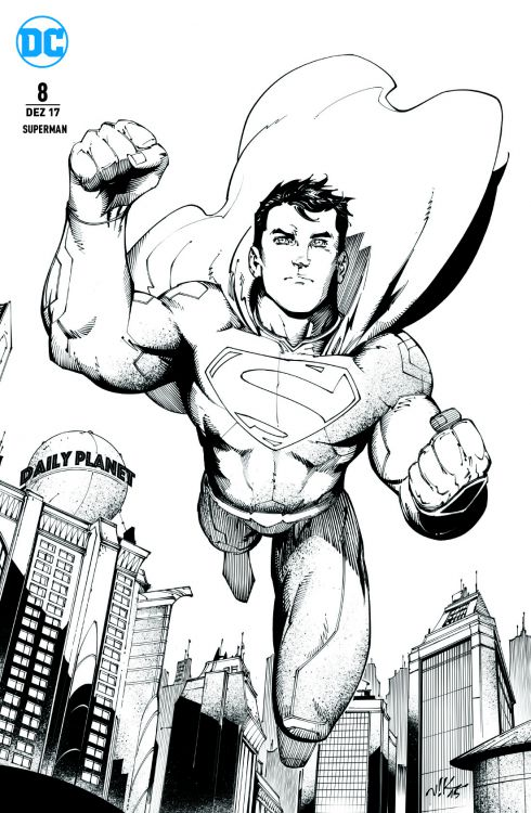 Superman 8 Variant - Comic Con Dortmund