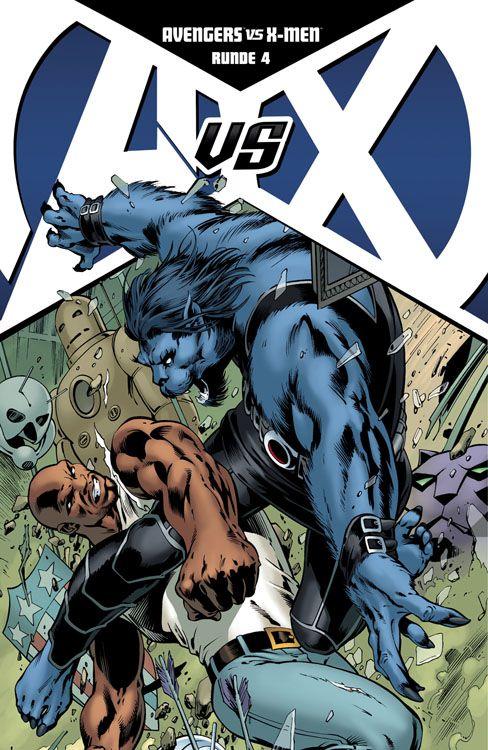 Avengers vs. X-Men 4 Avengers-Variant
