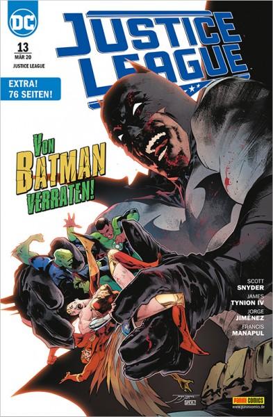 Justice League 13: Von Batman verraten! Cover