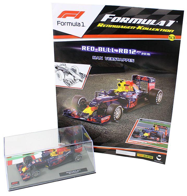 Verwonderend Formula 1 Rennwagen-Kollektion 53: Max Verstappen (Red-Bull-rb12 KC-74