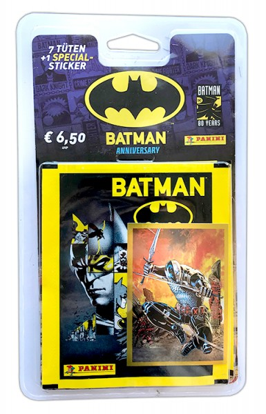 80 Jahre Batman Jubiläumskollektion- Blister