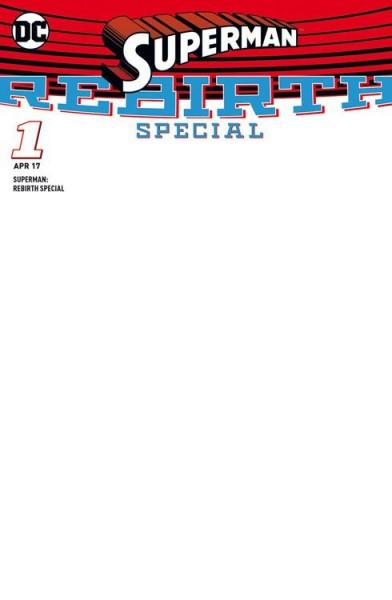 Superman: Rebirth - Special Variant-Sketch